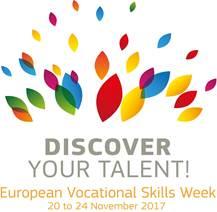 Settimana Europea delle competenze professionali 2017 logo