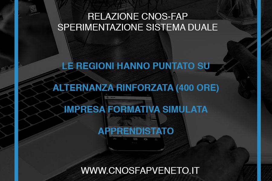 CNOSFAP veneto quali azioni portano avanti le regioni