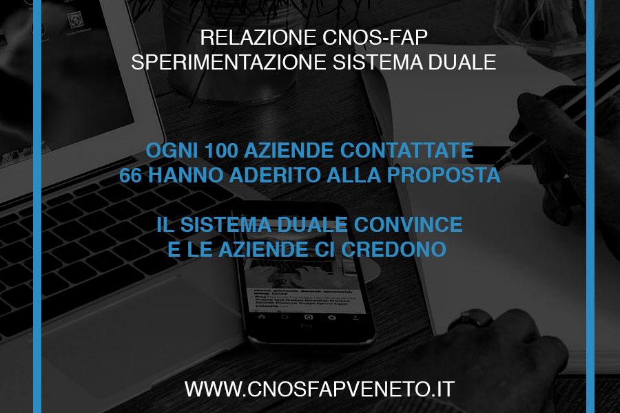 CNOSFAP veneto sistema duale le aziende ci credono