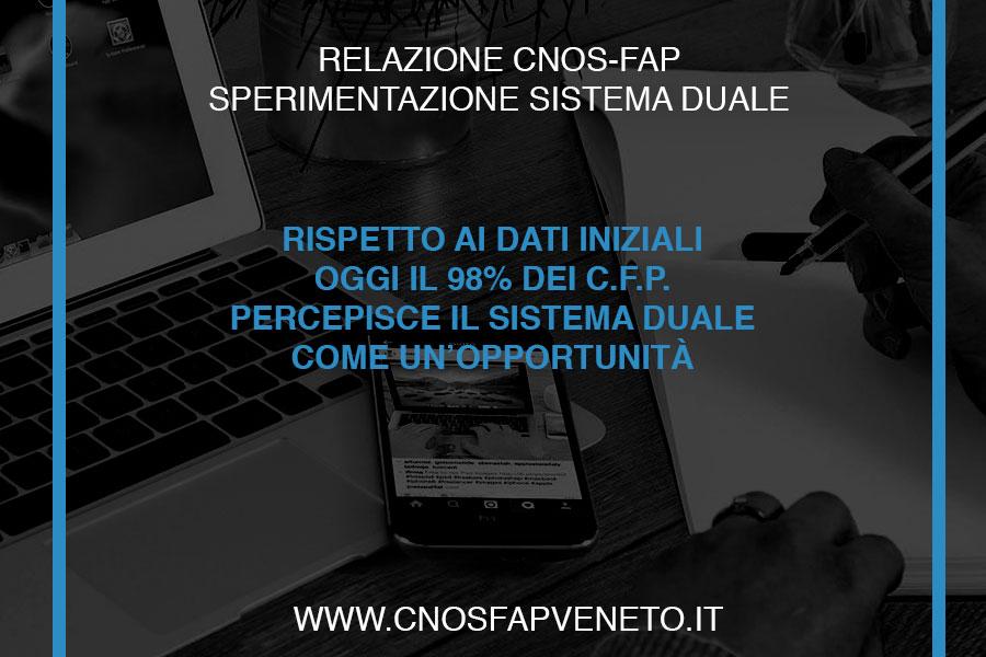 CNOSFAP veneto sistema duale opportunità per 98% dei CFP