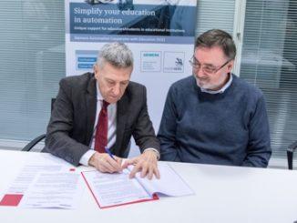 CNOSFAP siglato accordo con siemens per formazione industria 4.0