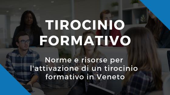 CNOSFAP Veneto tirocinio formativo