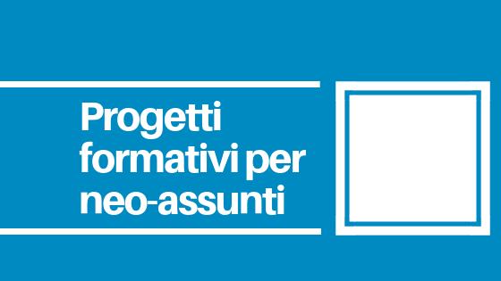 CNOS-FAP Veneto Progetti di formazione per neo-assunti