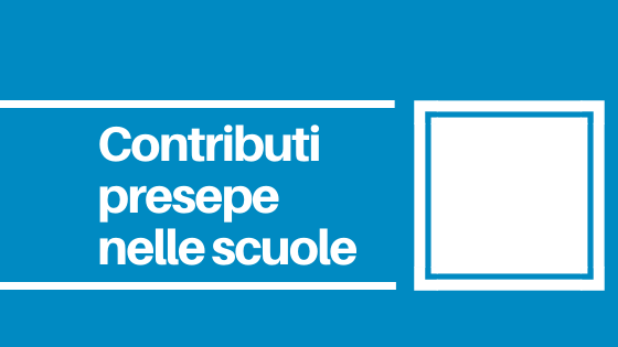 CNOS-FAP Veneto Contributi alle Scuole per la realizzazione di un presepe