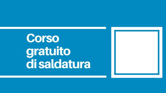 Il corso si terrà nella Scuola di Schio. C'è tempo fino alle ore 13.00 del 17 dicembre 2019 per consegnare la propria candidatura.