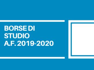 Ci sarà tempo fino alle ore 12.00 del 3 luglio 2020 per presentare le domande di controbuto per le borse di studio per l'anno scolastico 2019-2020.