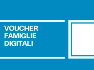Il voucher famiglie digitali serve per l'acquisto degli strumenti utili per la didattica a distanza a favore delle famiglie numerose.