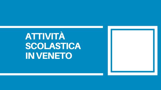 Pubblicati dalla Regione Veneto nuovi chiarimenti per la ripresa delle attività didattiche a partire dal 7 gennaio 2021.