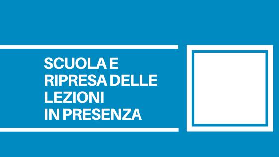 Un comunicato stampa del Consiglio regionale del Veneto con alcune riflessioni sulla prevista ripartenza delle scuole in presenza.