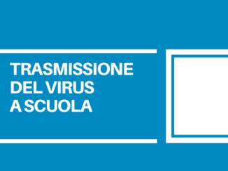 La trasmissione del virus nell'ambiente scolastico non sembra incidere in modo preoccupante sui casi totali.