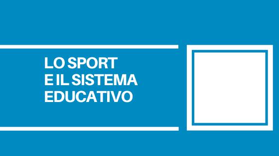 Il periodo estivo deve essere un importante opportunità per i giovani per tornare a vivere lo sport e la socialità.