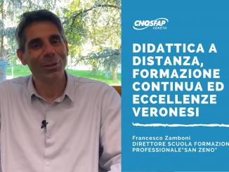 """Abbiamo intervistato Francesco Zamboni - Direttore Scuola Formazione Professionale """"San Zeno"""" - Verona."""